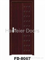 PVC MDF Wooden door manufacturers