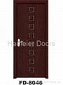 PVC MDF Wooden door manufacturers 2