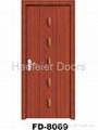 PVC MDF Wooden door manufacturers 3