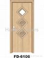 Bathroom door(MDF PVC Door)