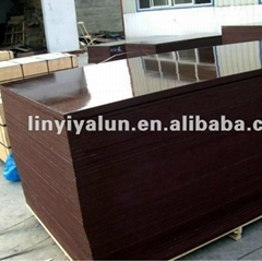 brown black water proof film faced plywood for construction