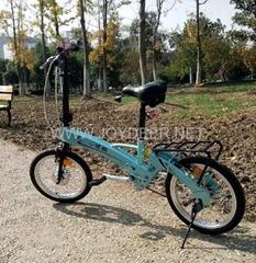 Joydeer speed variable folding e-bike, CE EN15194