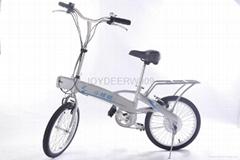 semi-folding electric bike