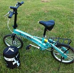 Fold up electric bike