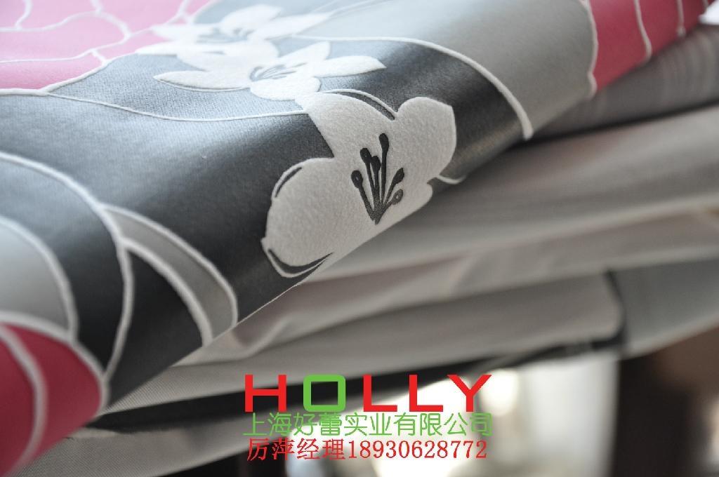 沙發墊表面裝飾材料 1