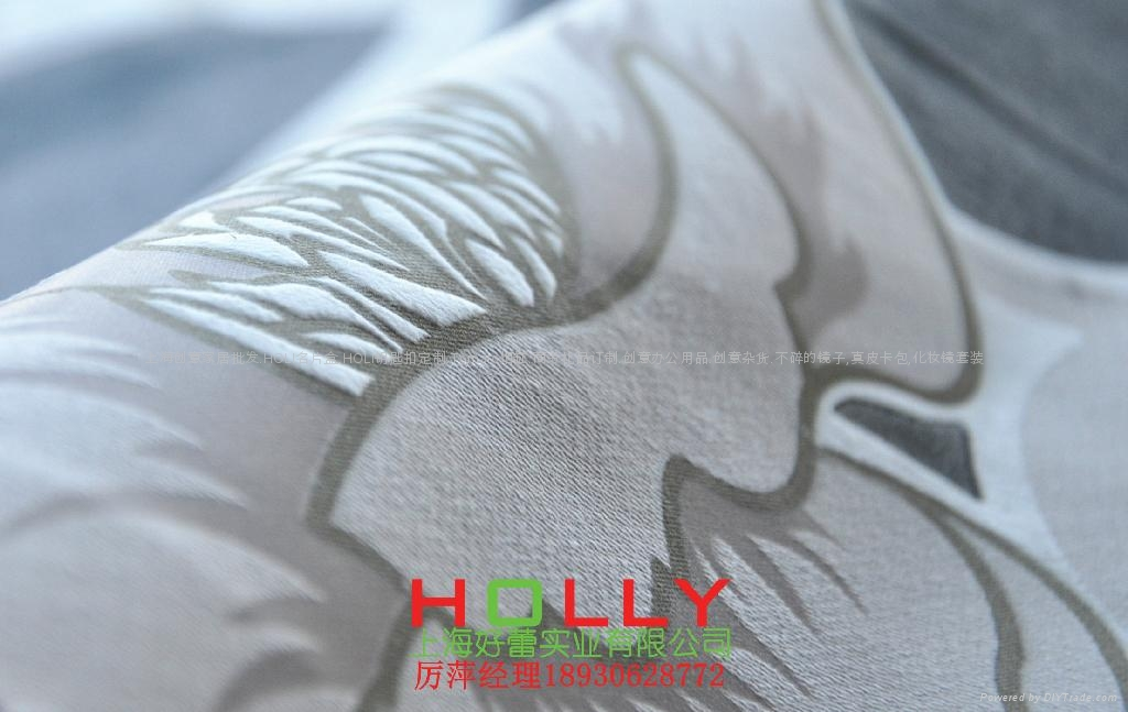 窗帘布料布艺绒皮面料 4