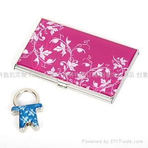 名片盒钥匙扣套装 1