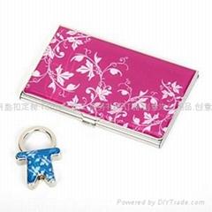 名片盒钥匙扣套装