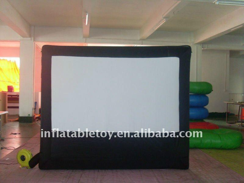 outdoor rear projection screen