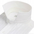 MEN'S long sleeve white dress shirt 2