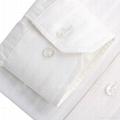 MEN'S long sleeve white dress shirt 4