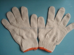 Different Size Cotton Knitted Gloves