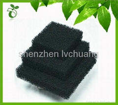 activated carbon foam sponge filter