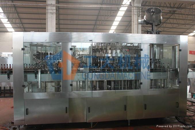 Isobaric Washing Filling Capping Triblock Machine 1