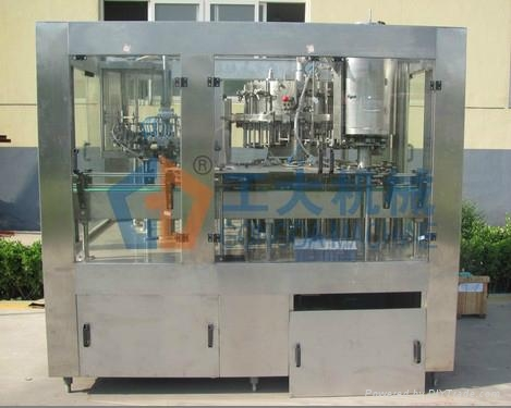 Isobaric Washing Filling Capping Triblock Machine 2