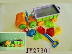 Summer beach sand toys for kids
