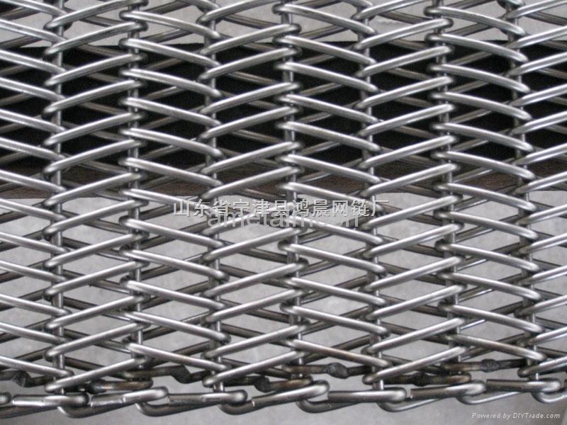 Stainless Steel Wire Distributors : Stainless steel conveyor belt mesh ametal ametalmesh