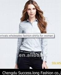 Cotton Short Sleeve Shirts for Women