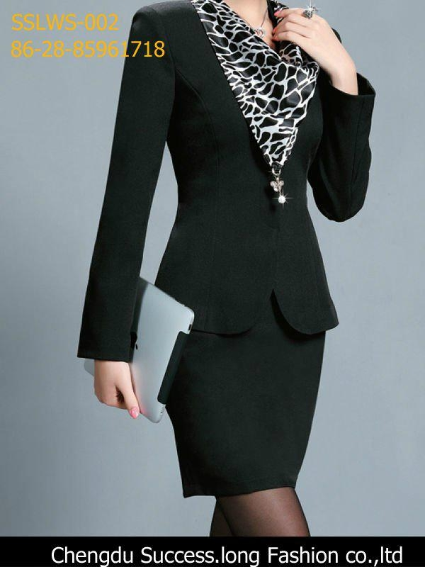 b8170e0dc67 Business Women Suit Top and Dress - Succes.long (China Manufacturer ...