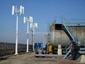 2kw vertical wind turbine generator/ home wind power system