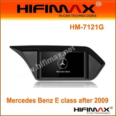 7'' Car DVD GPS Navigation with BT TV IPOD for Benz E class after 2009 W212 1