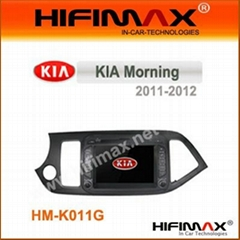 7 inch Car DVD withBluetooth RDS,Ipod,GPS for KIA Morning(2011-2012)