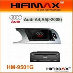 7 inch Car DVD GPS for Audi A4L A5 A6L A8L (2008-2012)