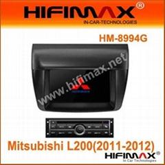7 inch Car DVD GPS(DVB-T optional) for Mitsubishi L200(2011-2012)