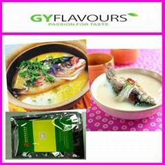 Fish flavoring paste flavor