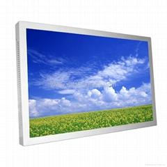 "24"" TFT LCD Monitor With HDMI/VGA/DVI Input"