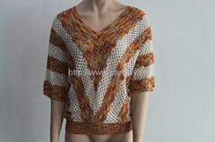 2013 fashionable v neck women summer sweaters