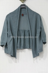2013 new collection short sleeve cardigan sweater for ladies