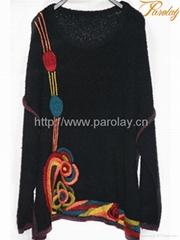 2012 new design women sweater overcoats