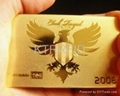VIP 24K Gold Plated Card