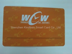 非接触式IC卡,IC芯片卡