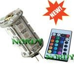 RGB led G4 lights led RGB bulbs remote control RGB G4 G4-Y18SMD5050