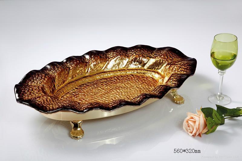 玻璃工藝果盤 1