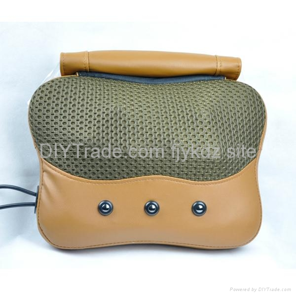 Infrared Heating Kneading Massage Pillow with mantle 1