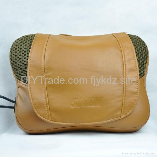 Infrared Heating Kneading Massage Pillow with mantle 4