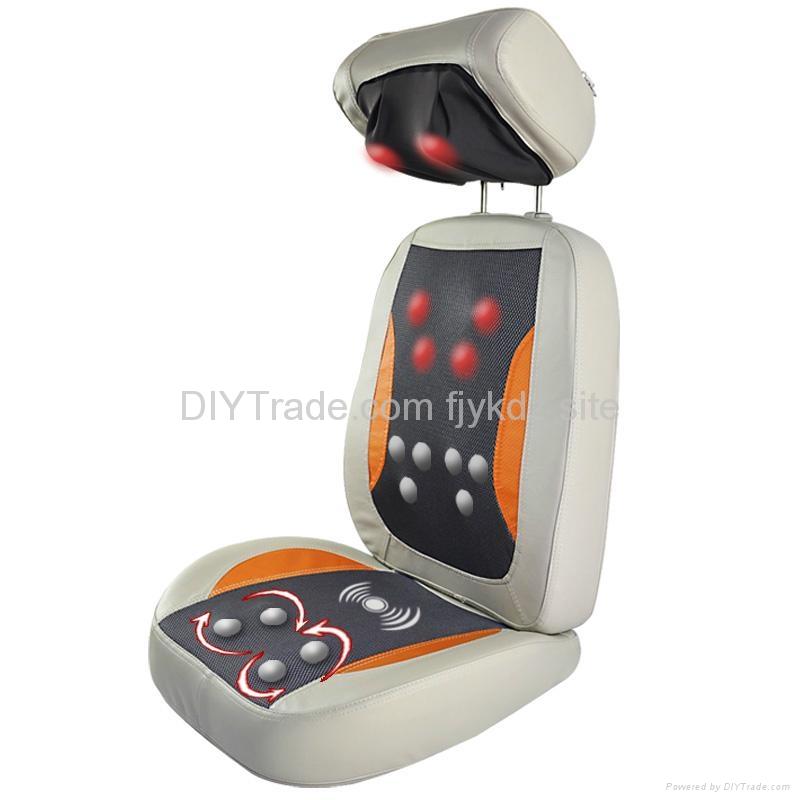 Automatic Shiatsu Kneading Thermo Massage Cushion with Heat  2