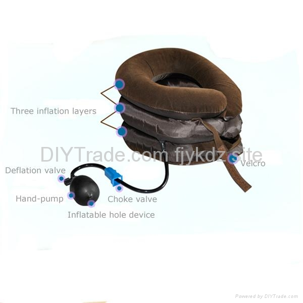 Inflatable Cervical Neck Traction Device 3