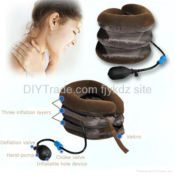 Inflatable Cervical Neck Traction Device 4