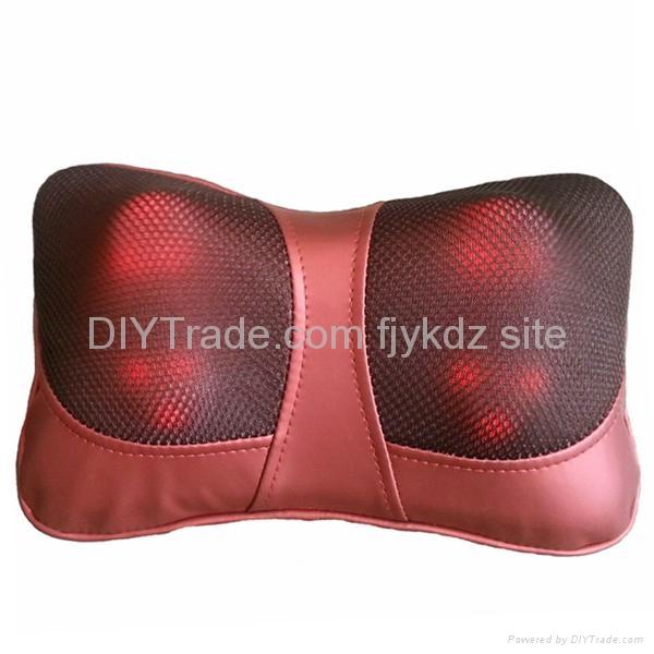 Home & Car Use Shiatsu Massage Cushion with Heat 1