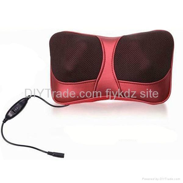 Home & Car Use Shiatsu Massage Cushion with Heat 3