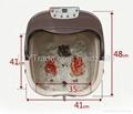 Ozone Foot Bath Massage with PTC Heating 2