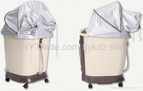Ozone Foot Bath Massage with PTC Heating 3