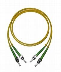 SM Fiber Optic Patch Cord (ST-ST-3M-DX-APC)
