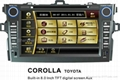 "8"" TFT  car DVD GPS for TOYOTA Corolla"