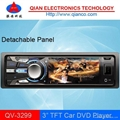 "3"" TFT Screen cardvd QV-3299 with USB AUX IN 1"