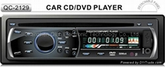 1 Din car DVD Player with USB AUX IN QC-2129